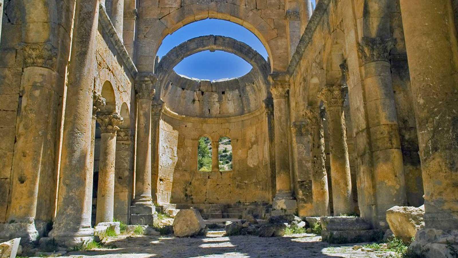 The Alacahan (Alahan) Monastery