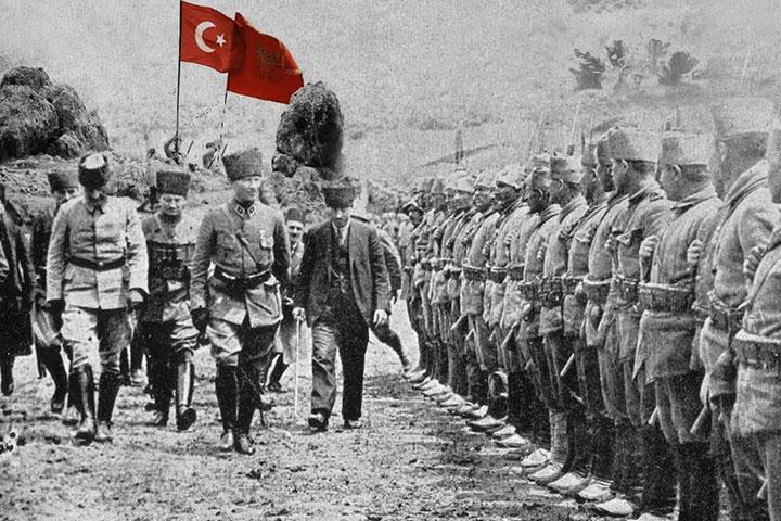 Ataturk Canakkale Word War