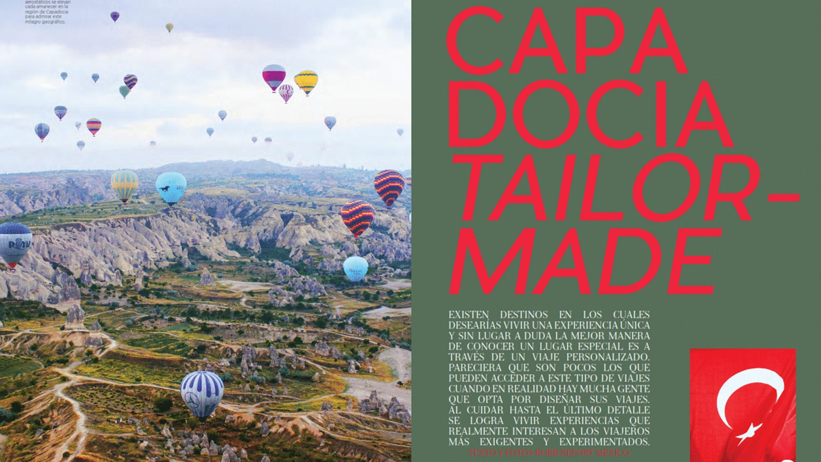 Robb Report Mexico Tailor Made Cappadocia Travel