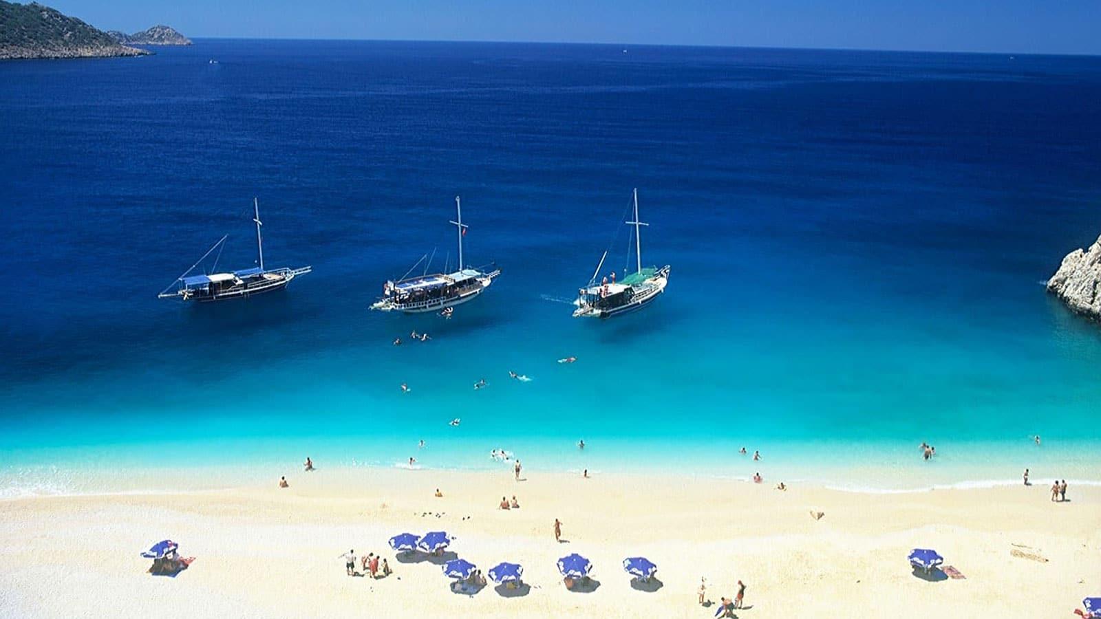Blue Flag Beach Turkey