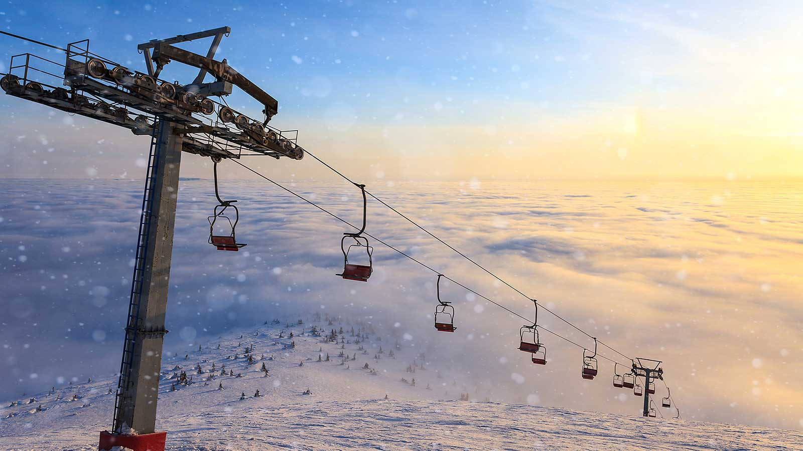 Uludag Ski Center Winter