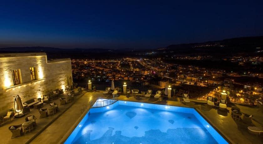Kayakapi Premium Cave Suites Cappadocia Pool