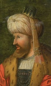 Painting of Fatih Sultan Mehmet