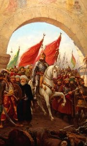 The Siege of Constantinople by Sultan Mehmed The Conqueror