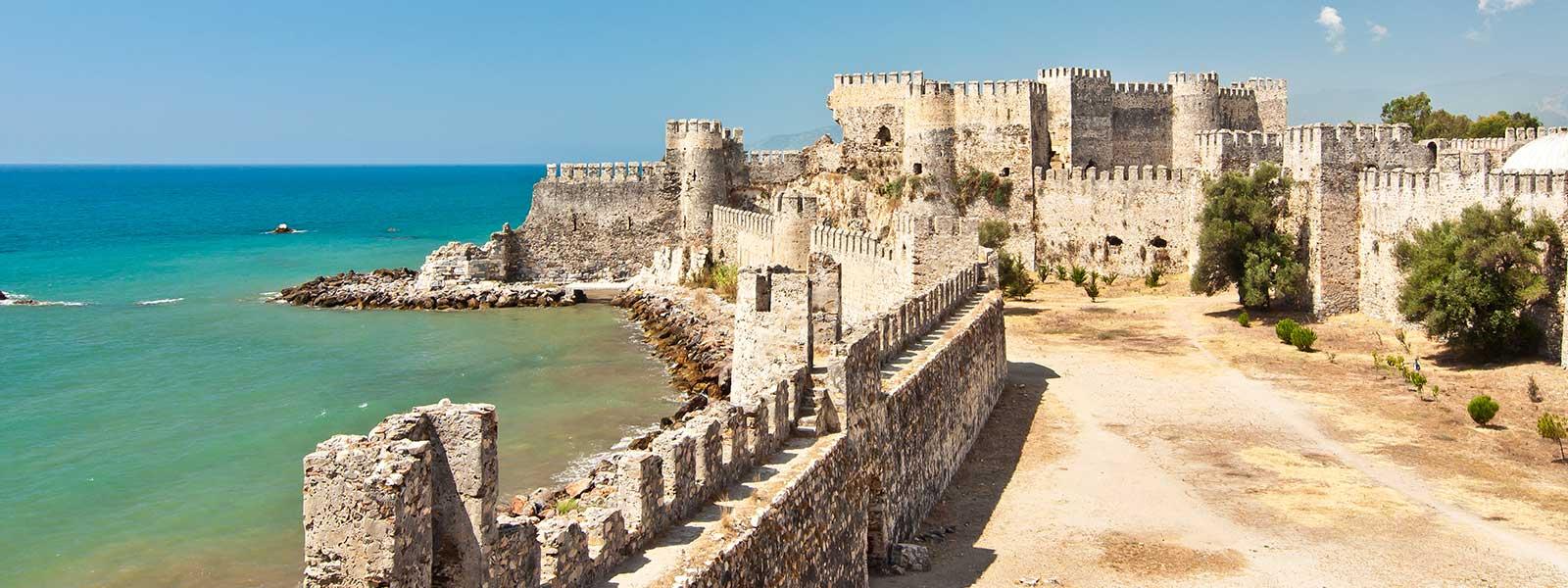 Anamur Mamure Castle Turkey