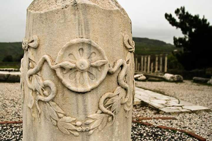 Asclepios Symbol Pergamon Turkey