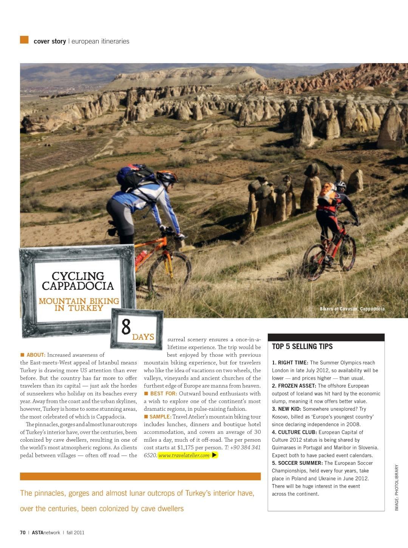Asta Magazine Cycling Cappadocia