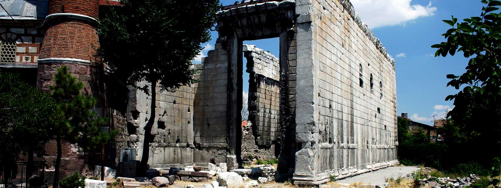 Temple of Augustus in Ankara