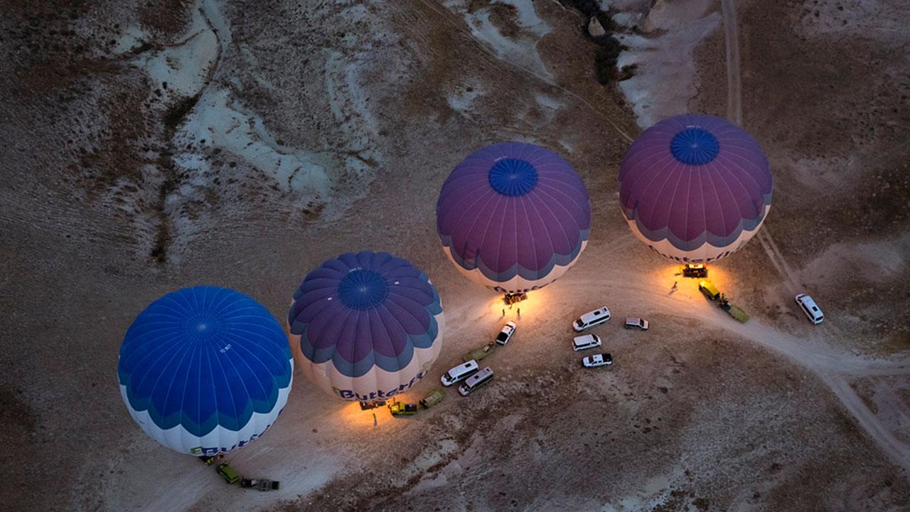 Balloons Cappadocia Turkey