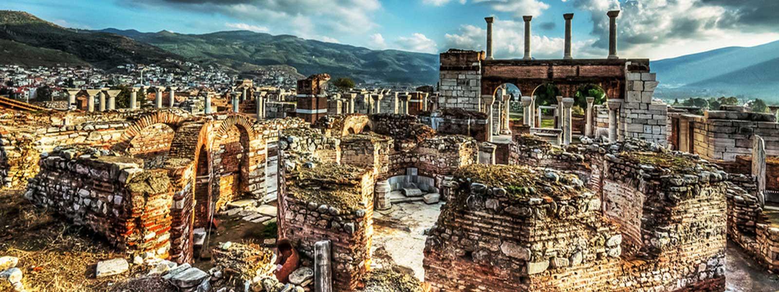 Basilica John Ephesus Turkey