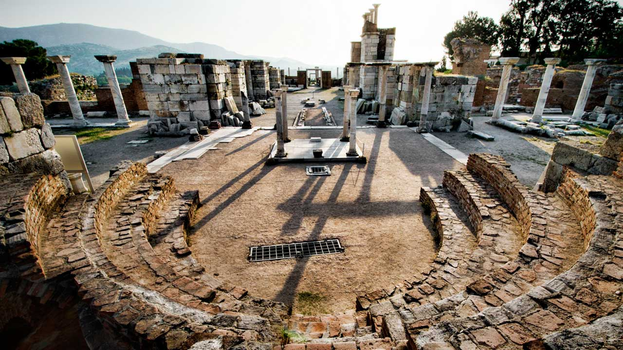 Saint John Basilica Ephesus Turkey