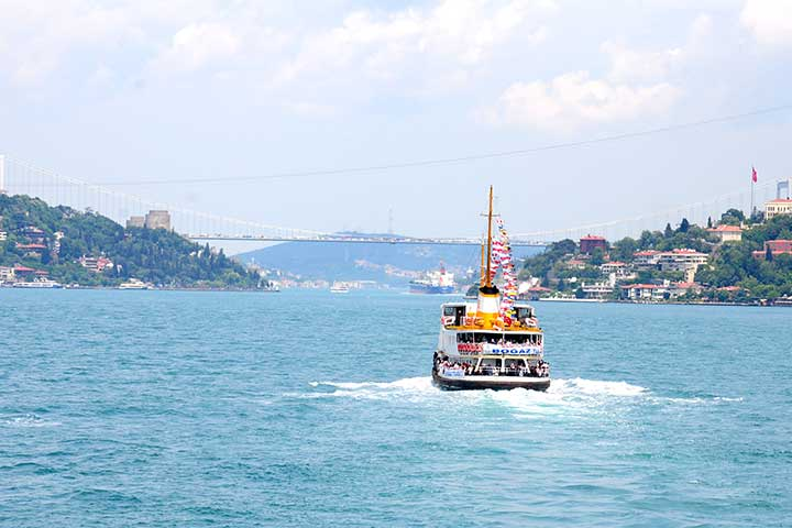 Bosphorus Cruise Public Ferries