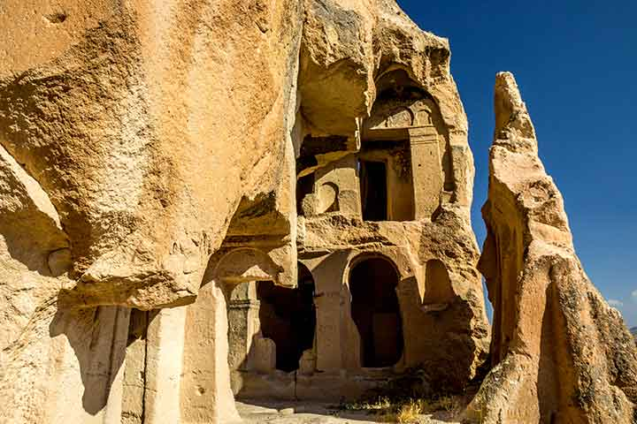 Caves in Cappadocia