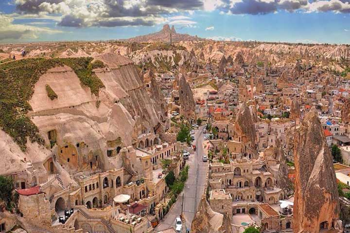 Cappadocia Goreme View Daylight