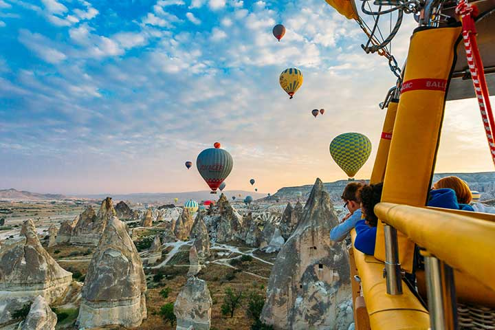 Cappadocia Hot Air Balloon Rates