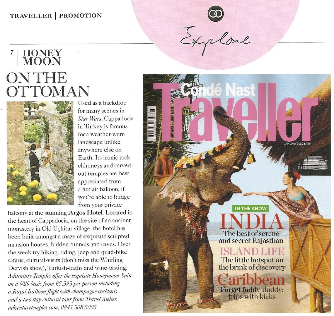 Conde Nast Traveler Honeymoon Ottoman