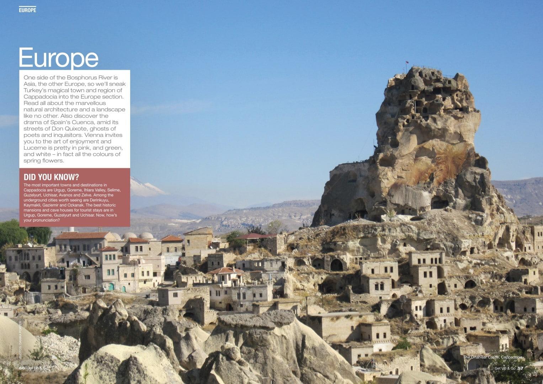 Danika Porter Get up and Go Cappadocia