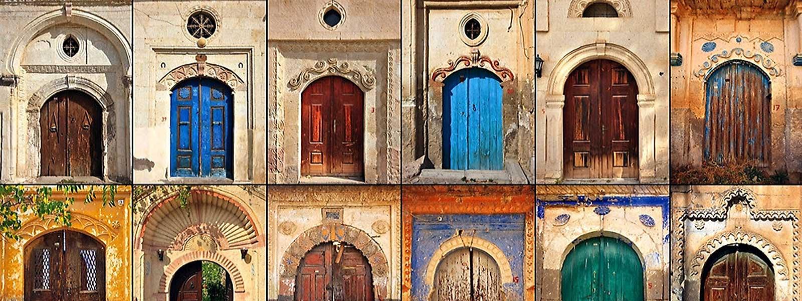 Doors of Mustafapasa (Sinasos) Cappadocia