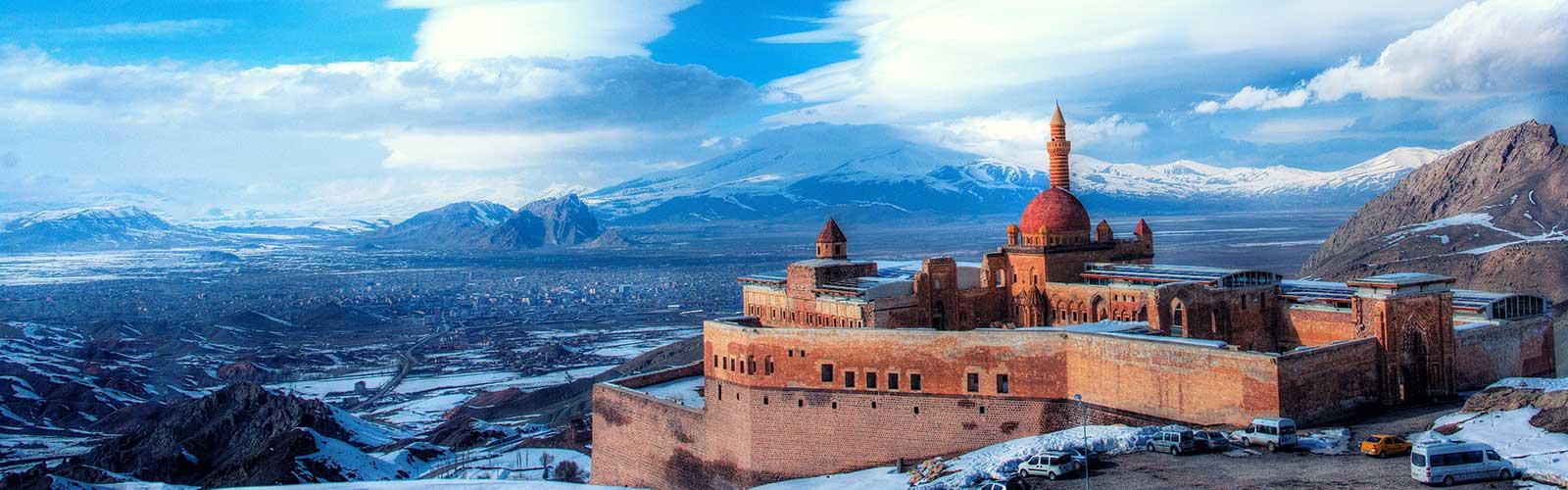 Ishakpasha Palace, Eastern Anatolia, Turkey