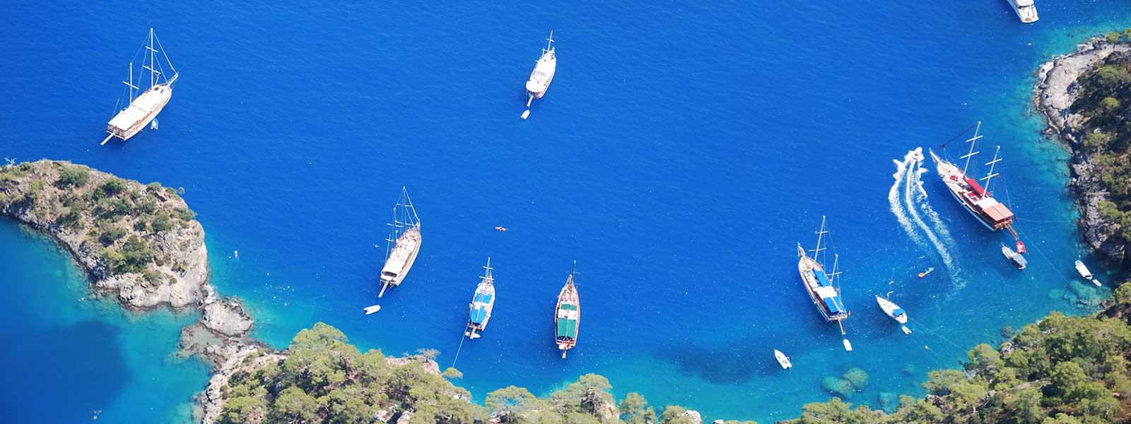 Fethiye Peninsula Turkey