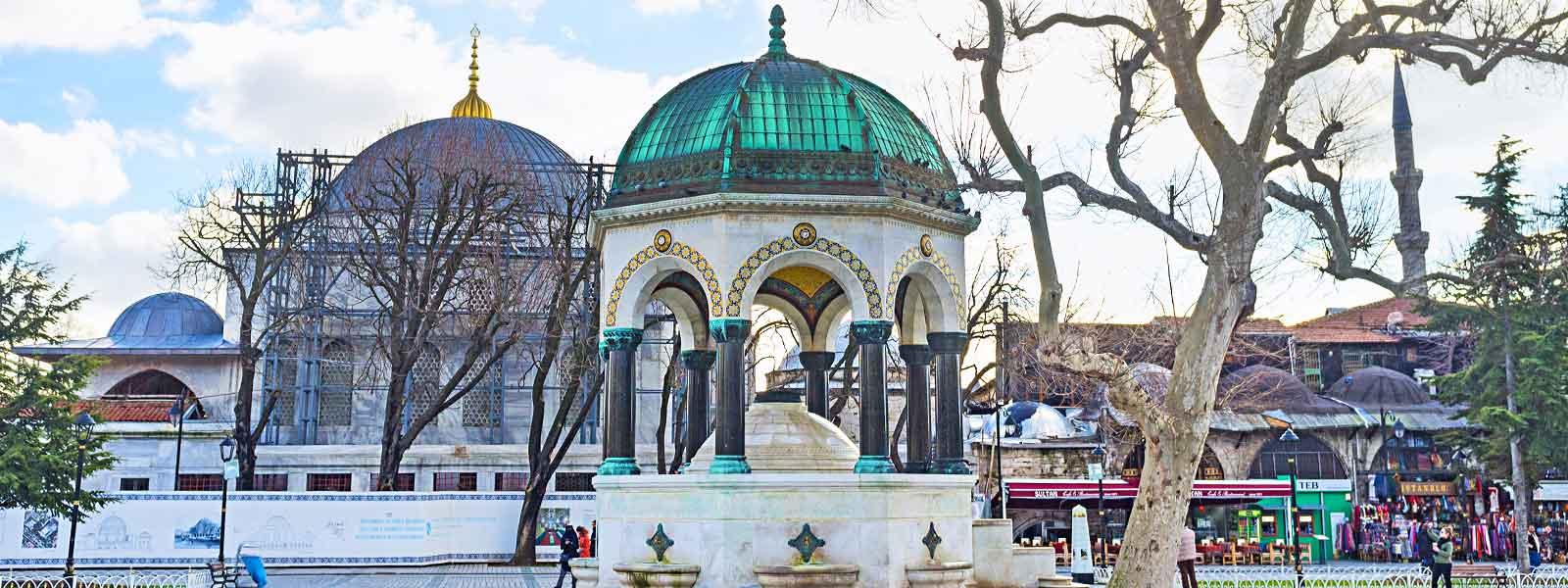 Kaiser German Fountain Istanbul