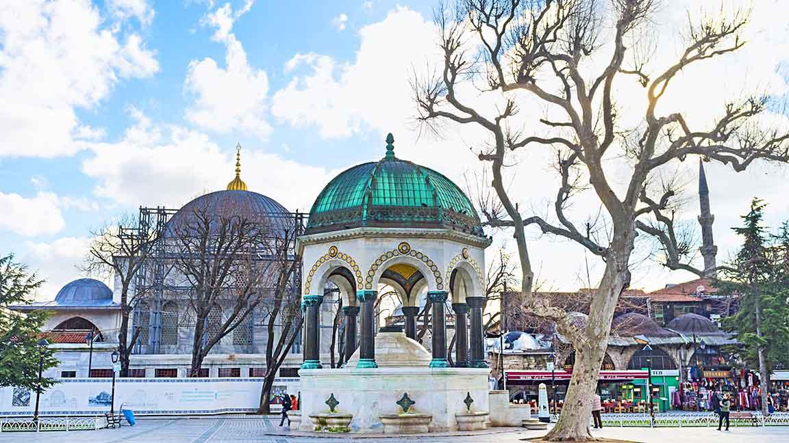 German (Kaiser) Fountain Istanbul