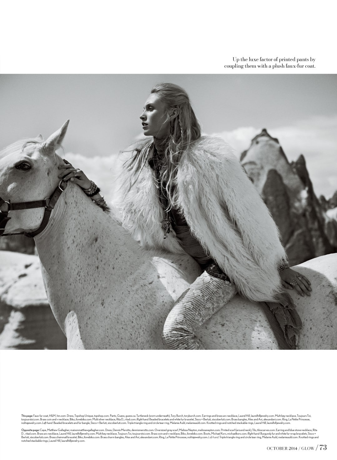 Glow Cappadocia Horse
