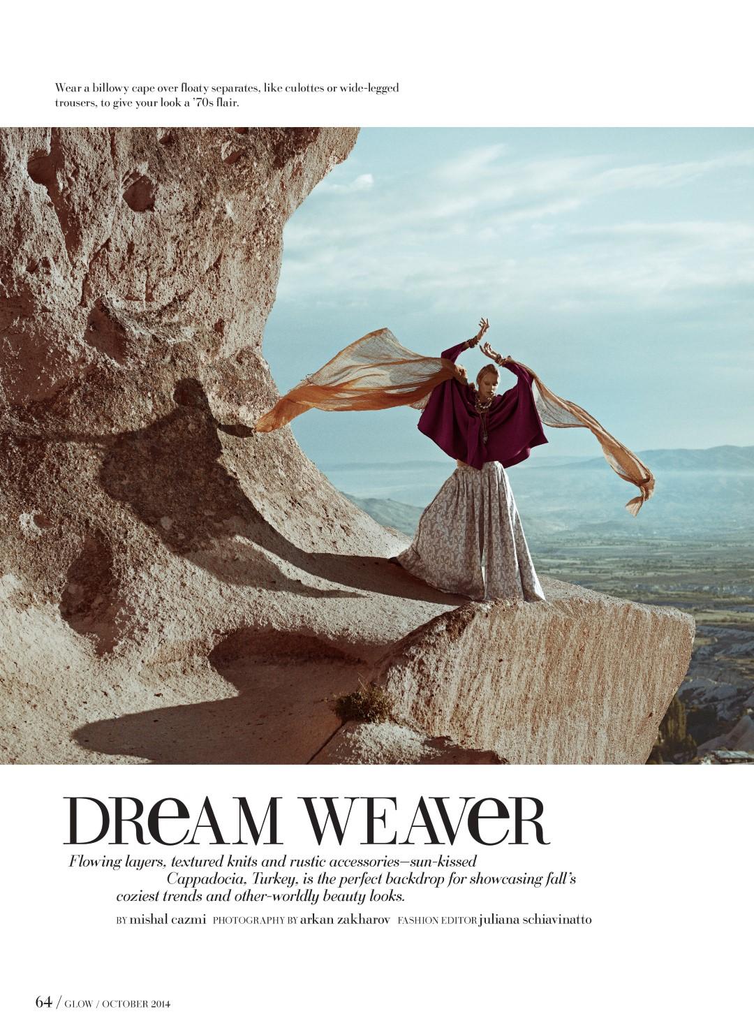 Glow Magazine Dream Weaver Cappadocia