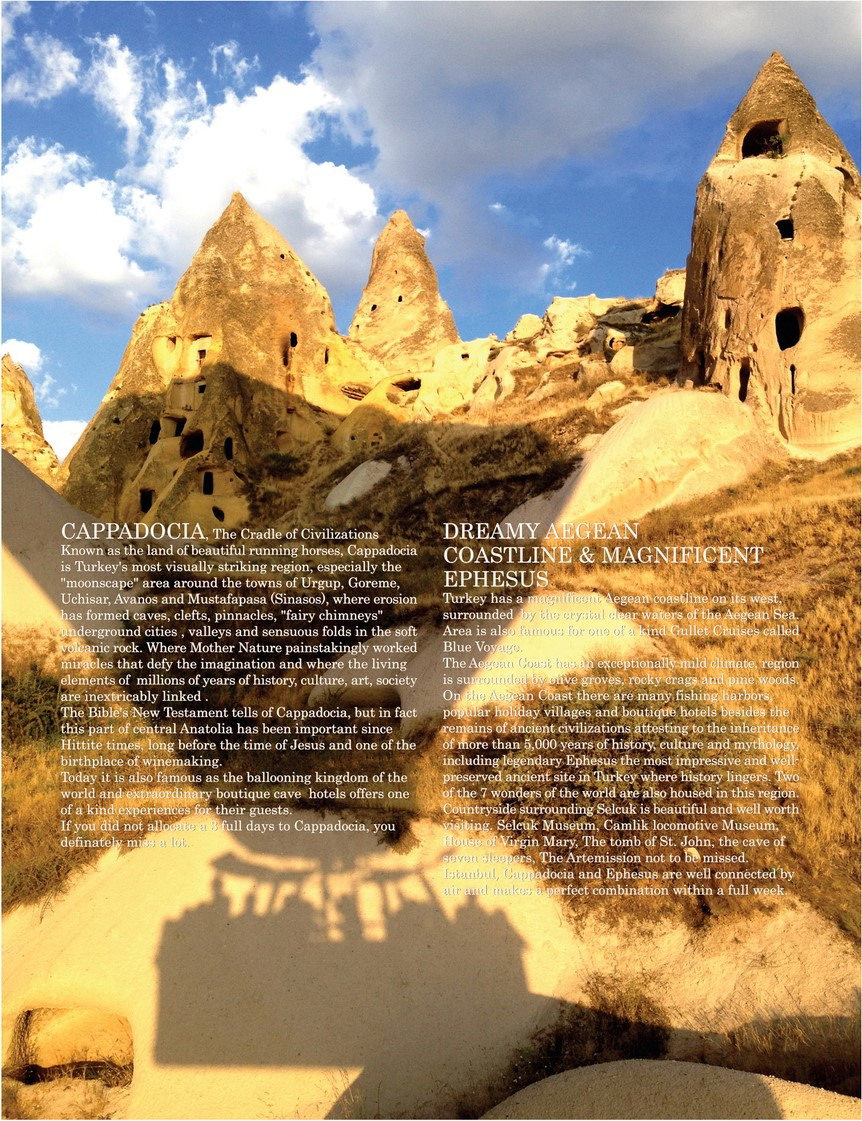 Golden Triangle Cappadocia for First Timers