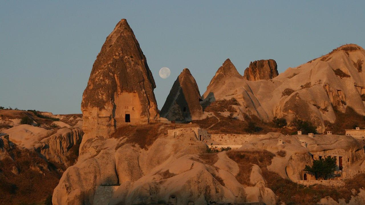 Goreme Cappadocia Moonlight