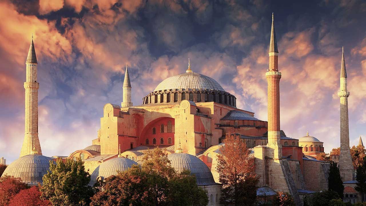 Hagia Sophia Exterior View Istanbul