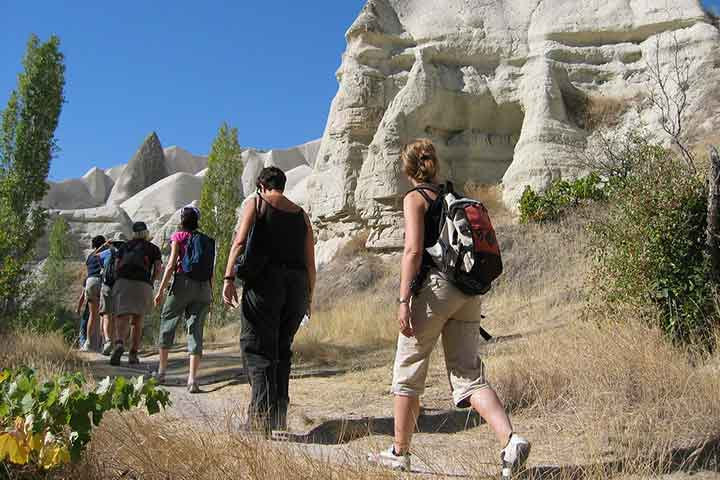 Hiking in Cappadocia Valleys