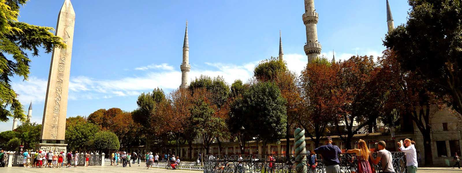 Hippodrome Square Istanbul Turkey
