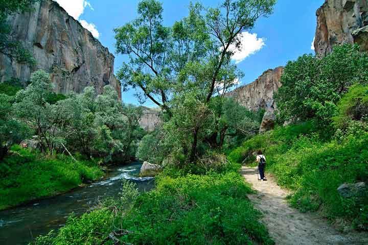 Hiking Ihlara Valley Cappadocia