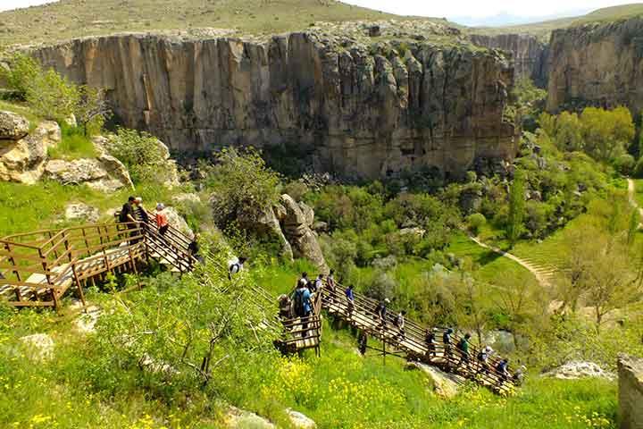 Ihlara Valley Hiking