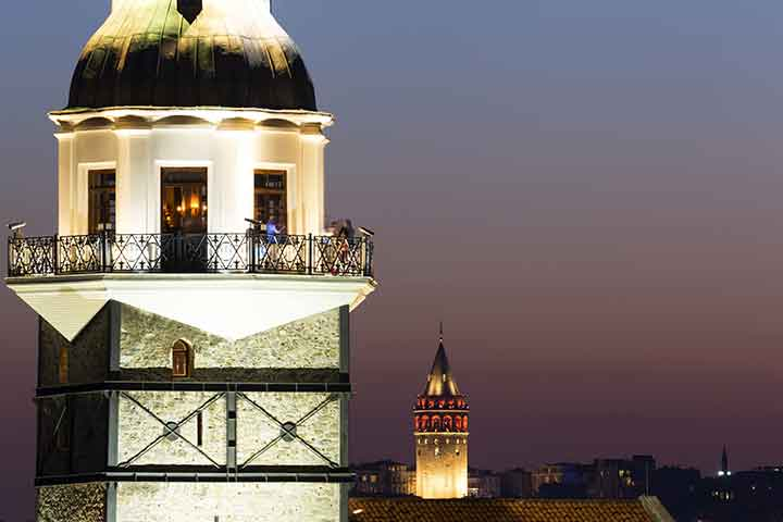 Maidens Tower & Galata Istanbul