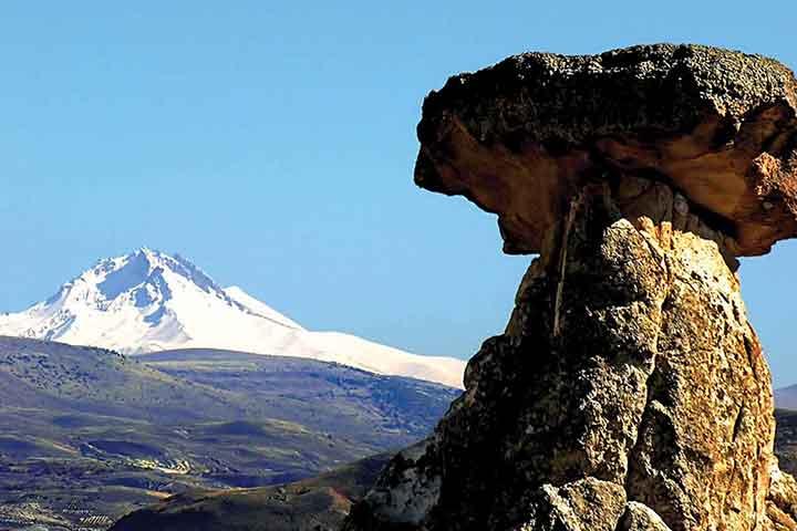 Mt. Erciyes Volcano