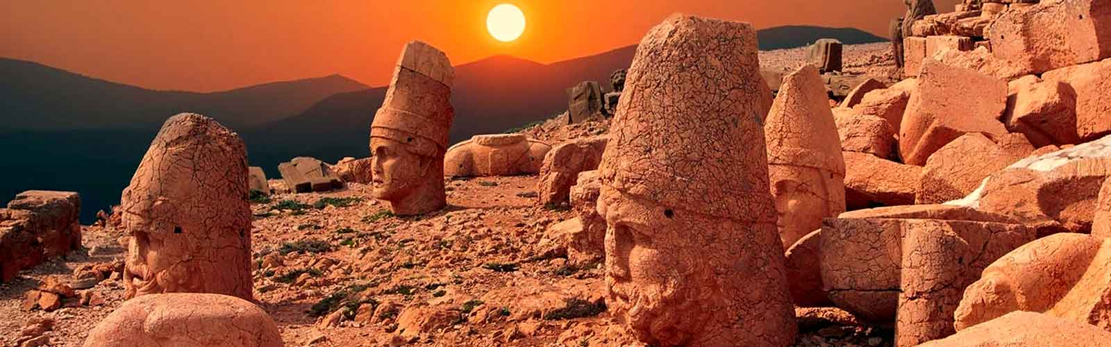 Sunset at Mt. Nemrut