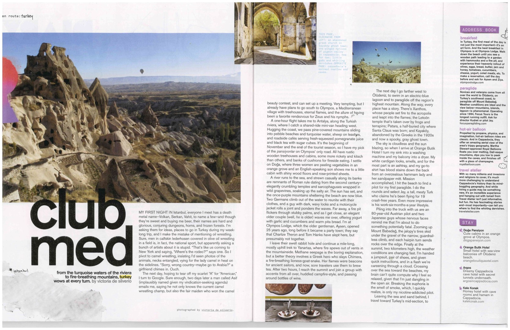 Nylon Magazine Cappadocia