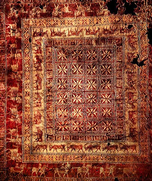 Oldest Turkish Carpet in the World