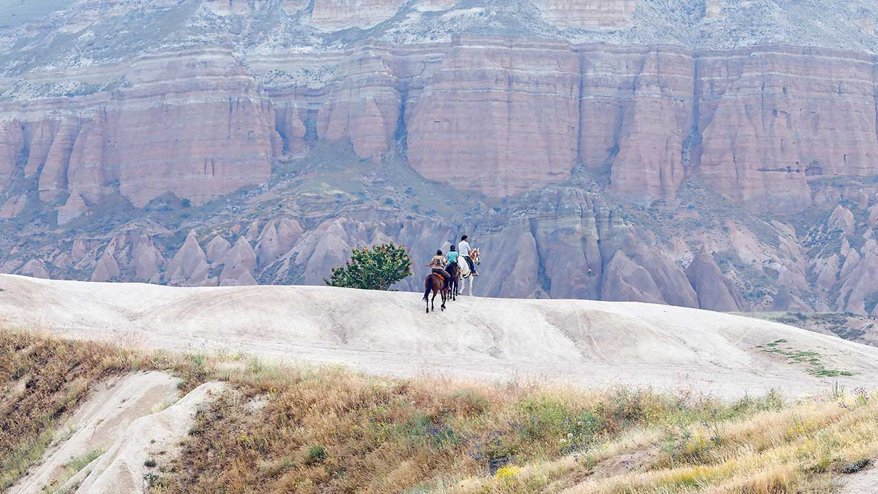 Red Valley Horseback Riding Cappadocia