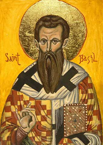 Saint Basil The Great Cappadocia