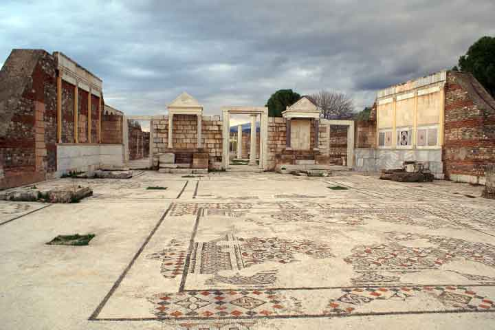 Sardes Ancient City Mosaics
