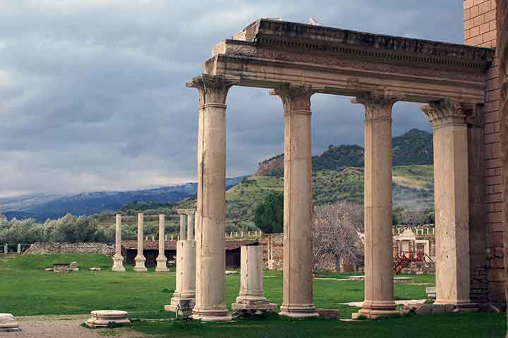 Sardes Ancient City Tour Turkey