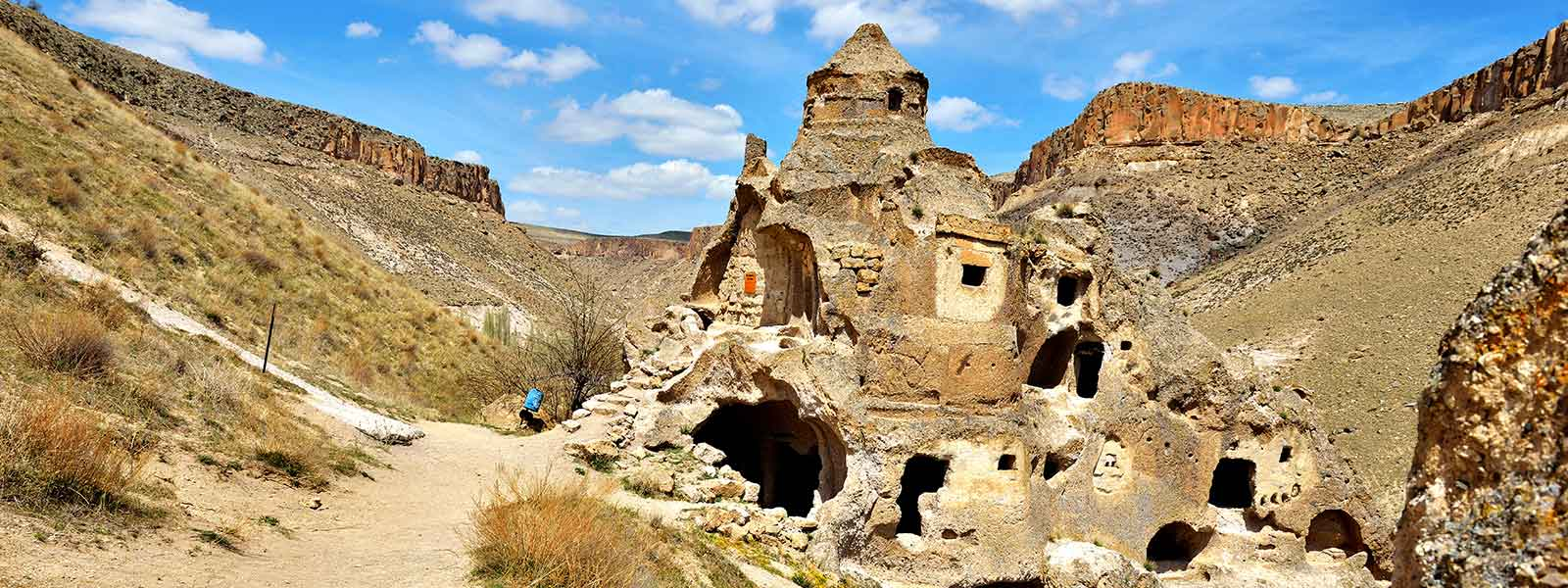Domed Church in Soganli Valley Cappadocia