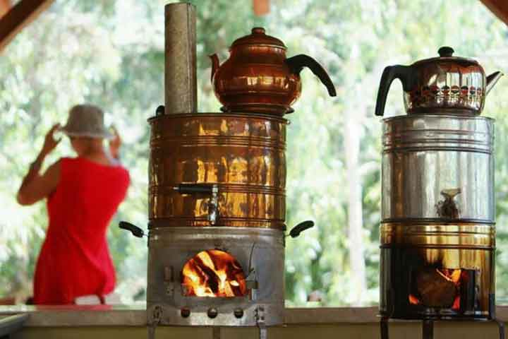 Tea Boiled on Wood Fire