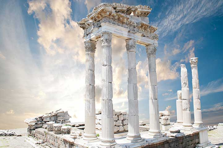 Temple of Trajan Pergamon