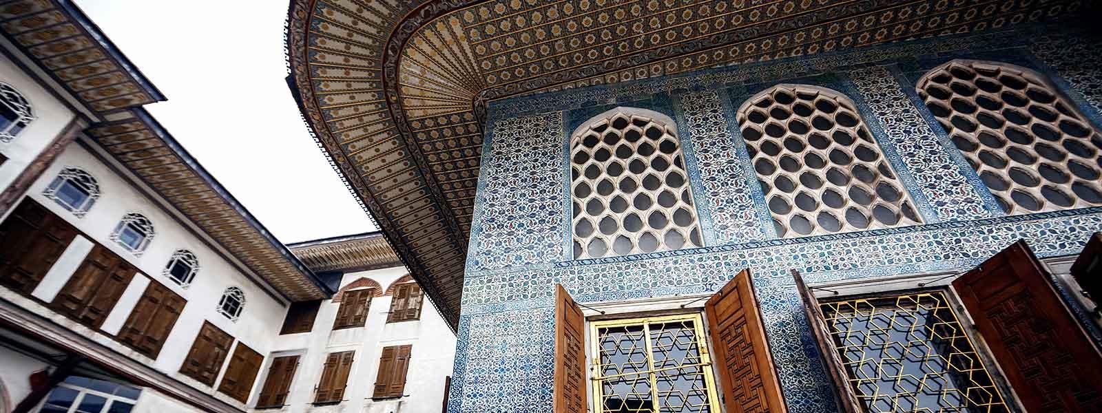 Topkapi Palace Museum, Istanbul Turkey