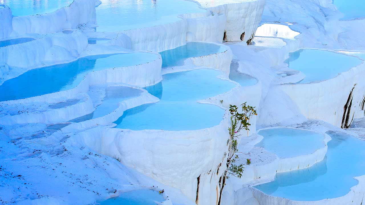 Pamukkale Travertine Pools Turkey