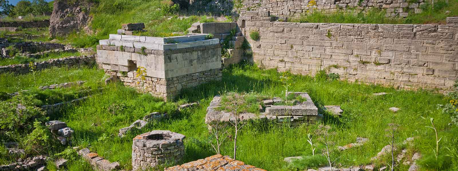 Troy Ancient City Ruins Turkey